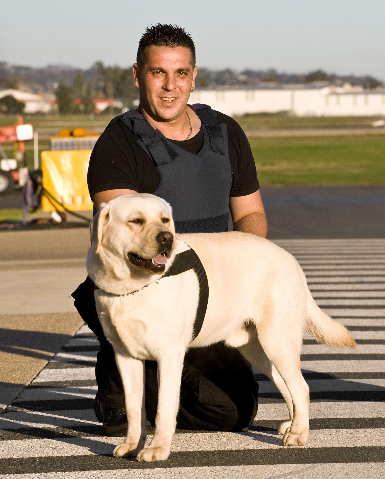 Steve at Albury Airport